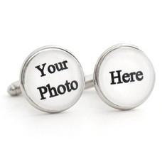 Foto Sieraad Clicks manchetknopen zilver met foto