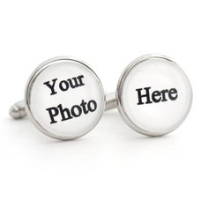 Fotoproducten Manchetknopen met foto zilver
