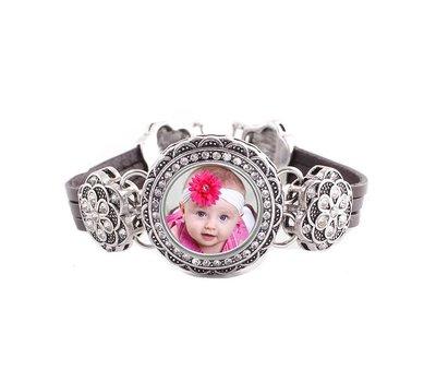 Foto Armbanden Armband beauty zilver met foto