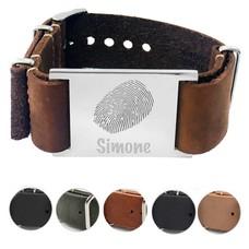 Vingerafdruk Sieraad Vingerafdruk Armband