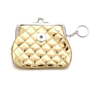 Clicks Sieraden Knip portemonnee glossy goud