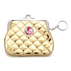 Portemonnee met foto Knip portemonnee glossy goud met foto