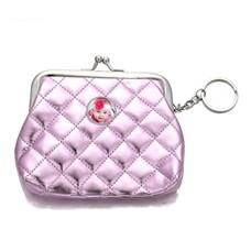 Portemonnee met foto Knip portemonnee glossy paars met foto