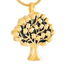 Assieraden Assieraad Ashanger levensboom goud inclusief ketting
