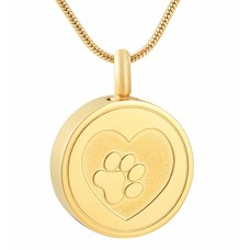 Ashangers Ashanger hondenpootje rond goud
