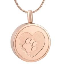 Ashangers Ashanger hondenpootje rond rose goud
