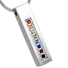 Ashangers Ashanger rechthoek multicolor zilver