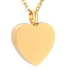 Assieraden Assieraad Ashanger hart forever goud inclusief ketting