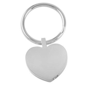 As Sleutelhangers As sleutelhanger hart zilver met foto en of tekst