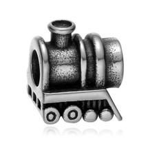 Bedels en Kralen Bedel lokomotief zilver