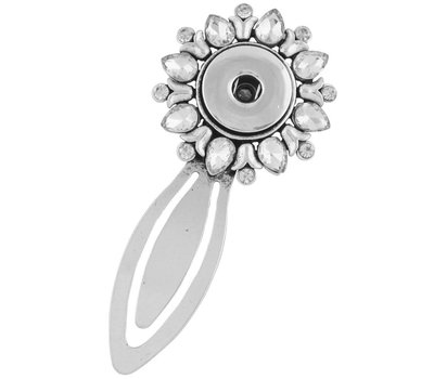 Clicks Sieraden Click boekenlegger flower crystal