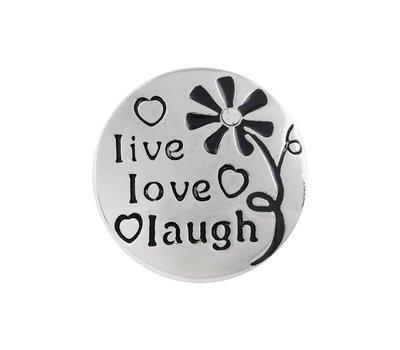 Clicks en Chunks | Click live love laugh voor clicks sieraden