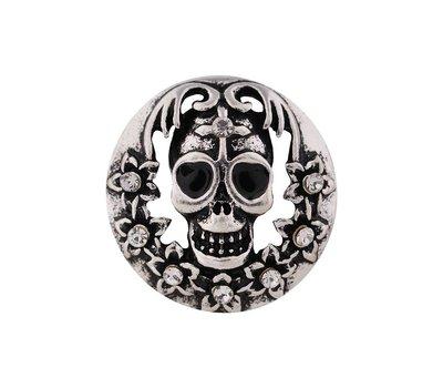 Clicks / Chunks Click skull zilver