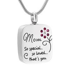 Assieraden Assieraad Ashanger mama zilver inclusief ketting