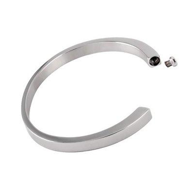 Assieraden As armband slavenarmband zilver