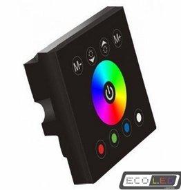 Eco-LED RGB SENSOR DIMMER MUURBEVESTIGING BLACK