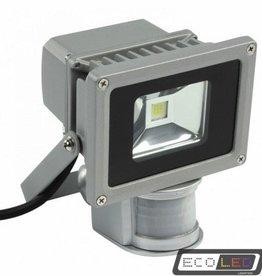 Eco-LED 50W LED VERSTRALER WARM WIT LICHT - IP65 WITH SENSOR
