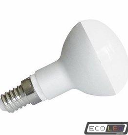 Eco-LED 5W rond (diameter 50) warm wit licht, E14