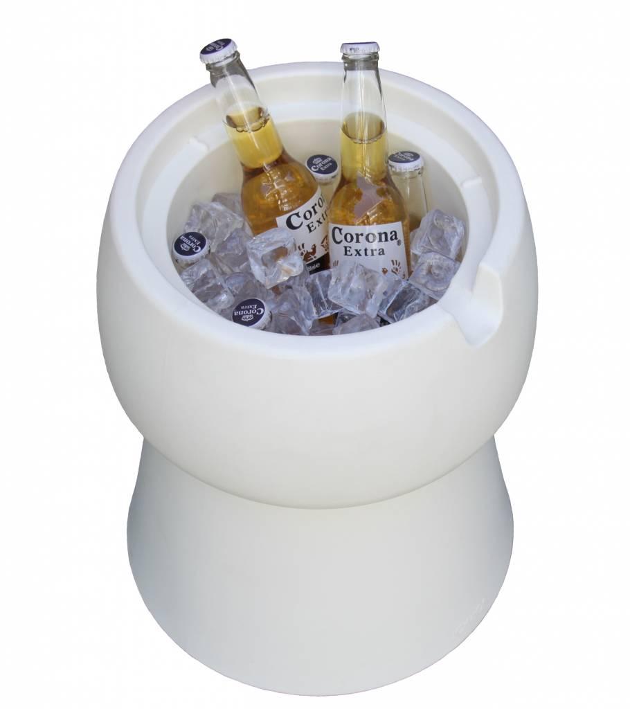 Champ Champ stool/cooler - White