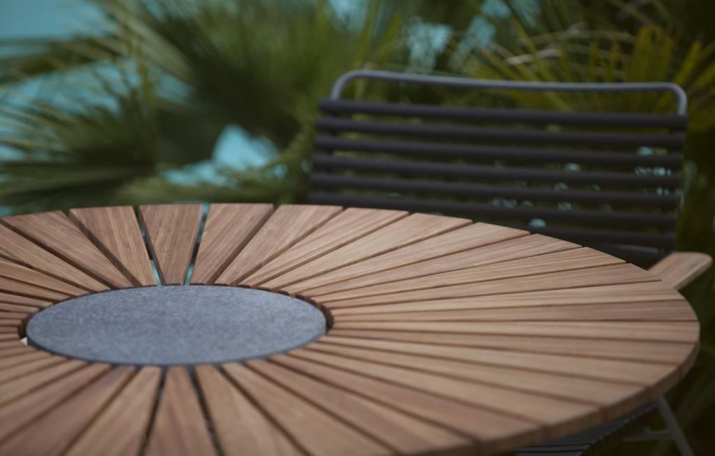 Houe Circle Tuintafel   Ronde tafel van Bamboo   Fraai Buiten