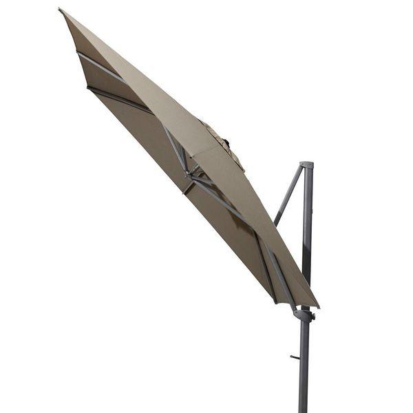 4SO Siesta Zweefparasol 300x300cm