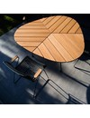 Houe Leaf tuintafel bamboe