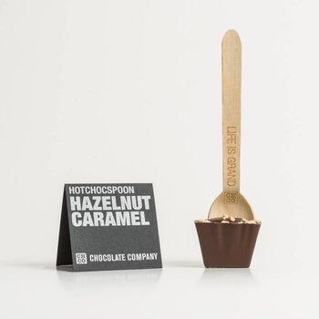 - HOTCHOCSPOON hazelnut caramel (dark)