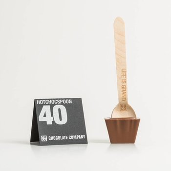 - HOTCHOCSPOON UNPACKED 40% (milch)