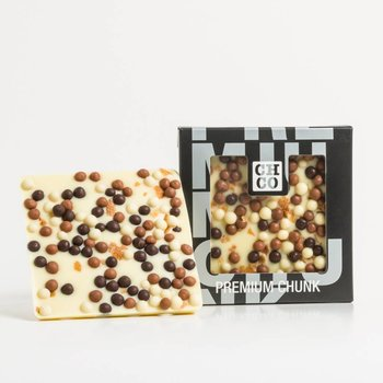 - CHOCBAR vanilla crunchy cookie (weiss)