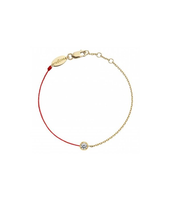 "Redline Armband ""Pure Double"" aus Gelbgold"