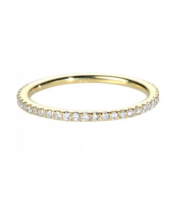 """Redline Ring """"Si Jolie"""" Gelbgold / Weißdiamanten"""
