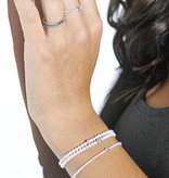 "Redline Armband ""Pure"" Roségold Diamonds & Pearls"