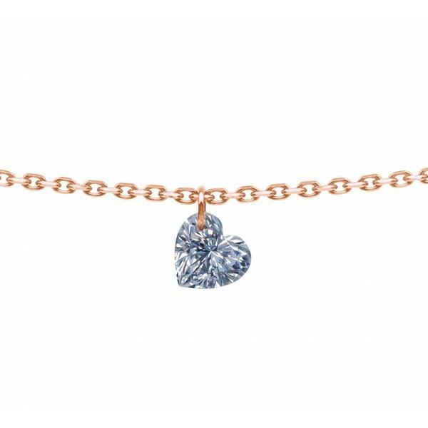 Halskette 360°Ceur Roségold/Diamant 0,15 Gr.