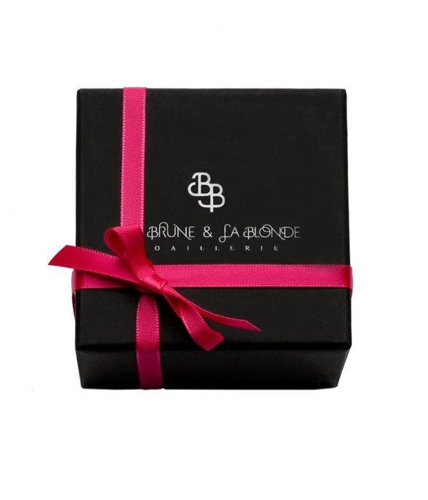 La Brune et la Blonde Halskette Excentrique Roségold 0,07 Karat