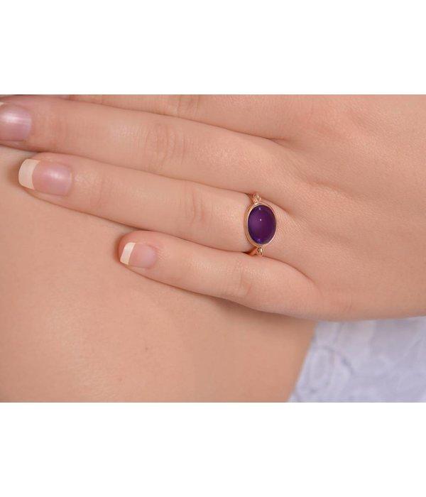 Isabelle Langlois Ring Elegance Amethyst