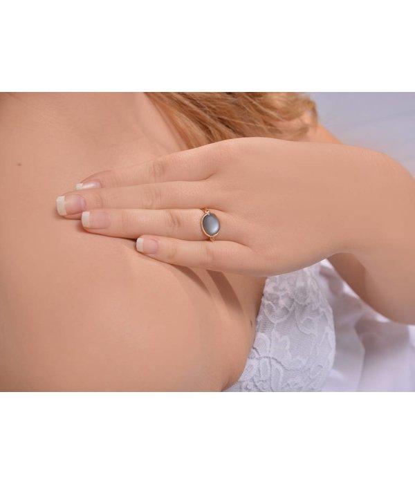 Isabelle Langlois Ring Elegance Mondstein