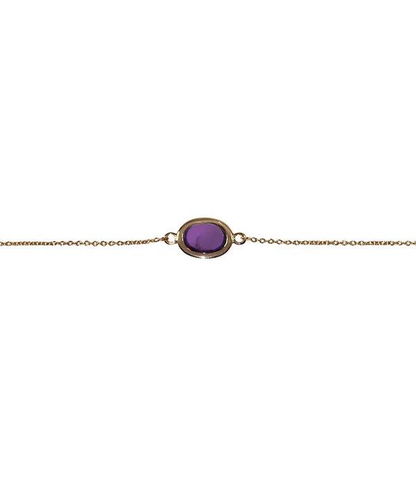 Isabelle Langlois Armband Elegance mit Perlen und Amethyst