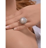 "Isabelle Langlois Ring ""Vollmond"""
