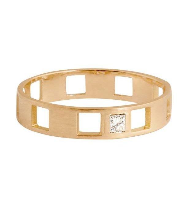 Charlet Ring Damier Diamant