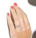 """Redline Ring """"Si Jolie"""" Weißgold / Weißdiamanten"""