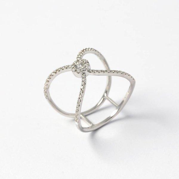"""Ring """"Deux Cercles"""""""