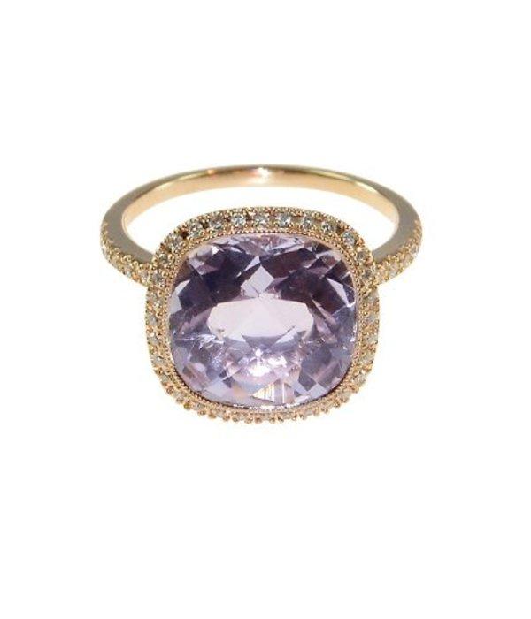 Isabelle Langlois Ring Elysee Rose de France