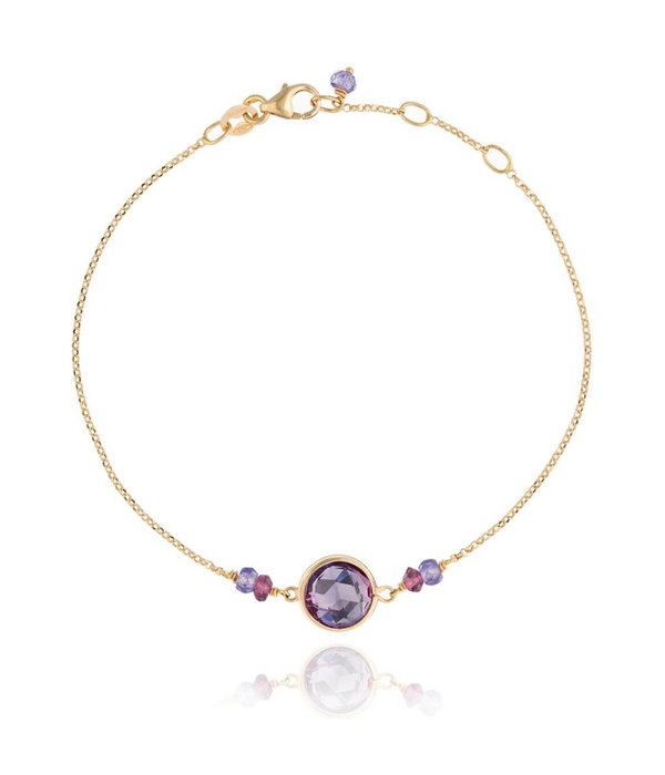 Perle de Lune Armband Precious Amethyst