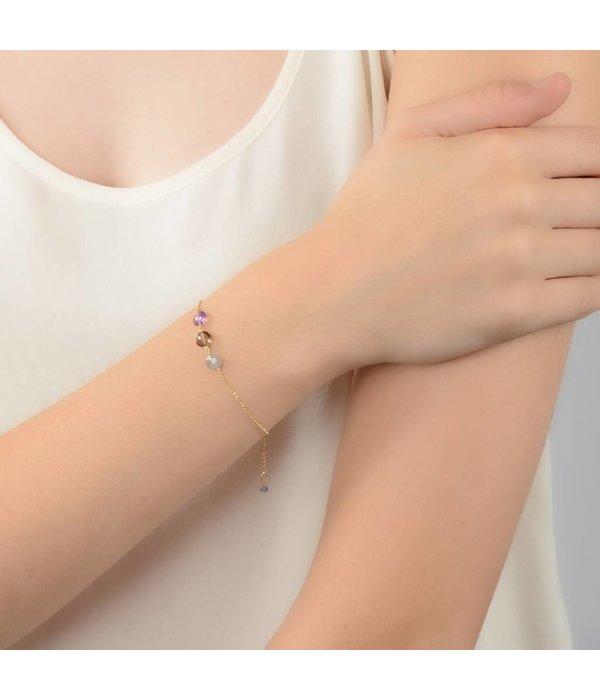 Perle de Lune Armband Trio Pastille