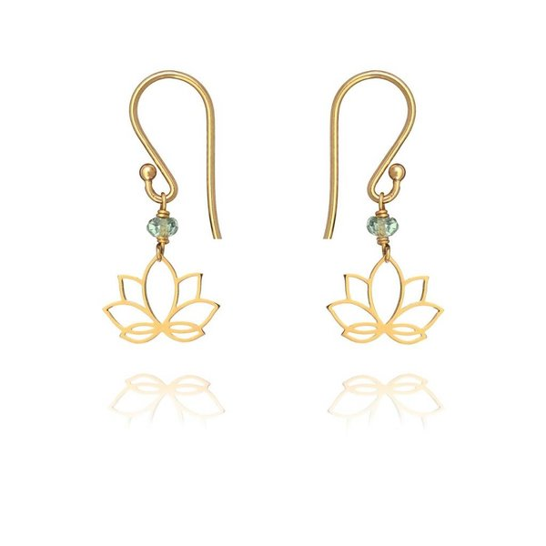 Ohrringe Lotus