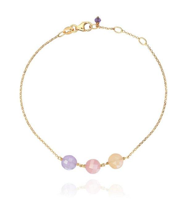 Perle de Lune Armreif Trio Pastille