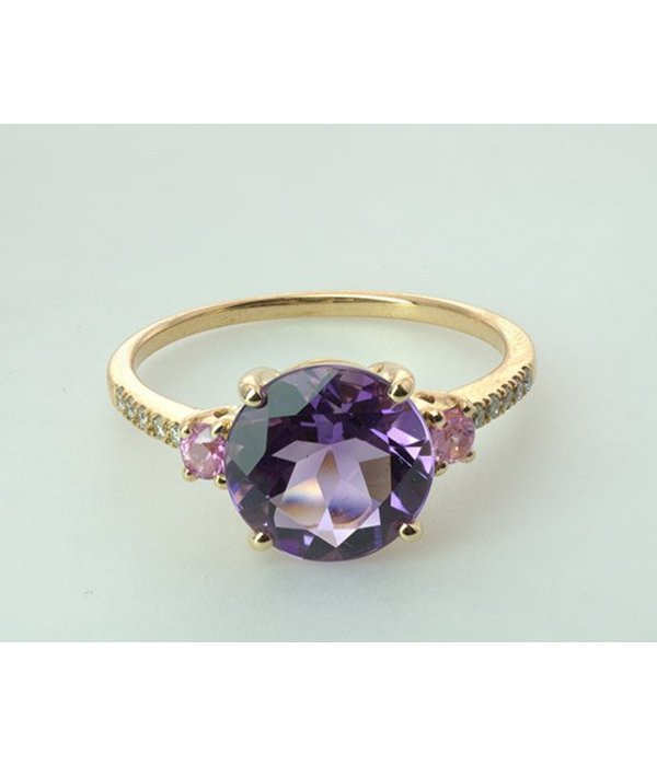 Isabelle Langlois Ring Josephine Amethyst