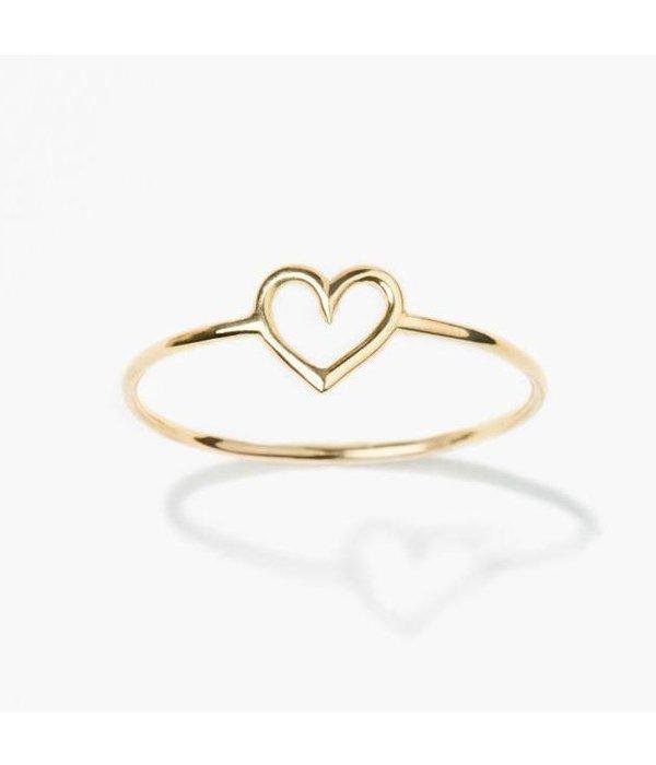 Aurélie Bidermann Ring Coeur