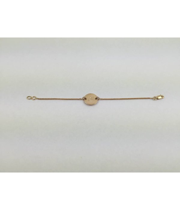 Michele M - Collection Privee Armband Initialen