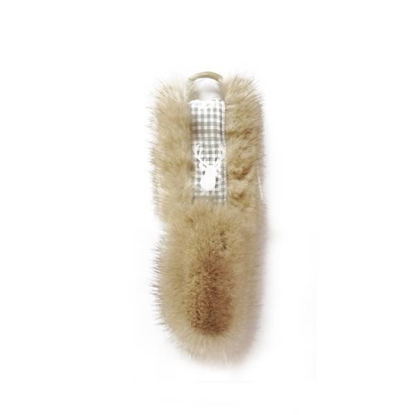 Schlüsselanhänger Elchcreme - 15 cm